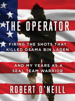 """This book cover provided Scribner by shows Robert O'Neill's """"The Operator."""" O'Neill, The Navy SEAL who has said he fired the shots that killed Osama bin Laden, has a memoir coming out this spring 2017."""
