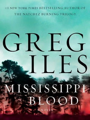 "This cover image released by William Morrow shows ""Mississippi Blood,"" a novel by Greg Iles."