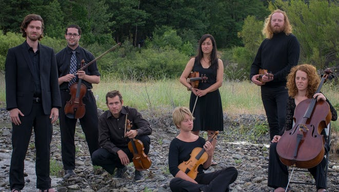 The Trinity Alps Chamber Music Festival includes two concerts this week by the RossoRose Duo on Oct. 26 and 27.