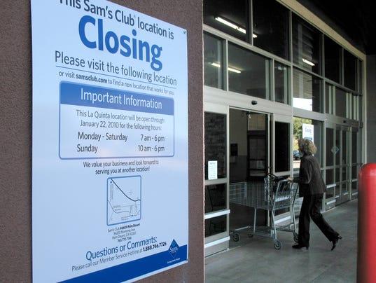 Sam's Club closes