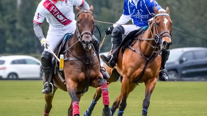 Adolfo Cambiaso (blue) will be one of the 10-goalers competing in the World Polo League this season.