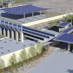 Concept design for new Columbus, New Mexico Port of Entry.
