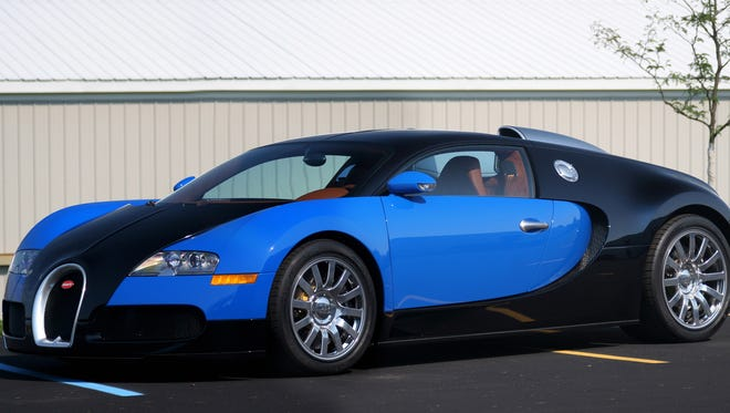 The Bugatti Veyron at a combined 11 miles per gallon in city and highway driving, is the least fuel efficient car available in the U.S. And it only costs $1.5 million.