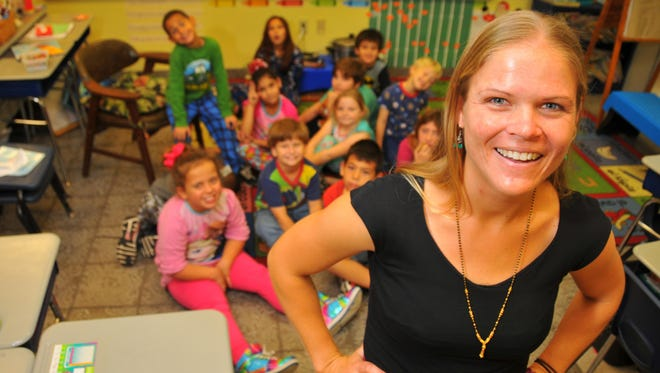 Laura Negi attended Eau Gallie High, then UCF, did her service years for the Peace Corps in Mongolia and is now back teaching 2nd grade at Sabal Elementary School.