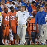 First-year Florida coach Jim McElwain has the Gators on a roll going into Saturday's game at Mizzou.
