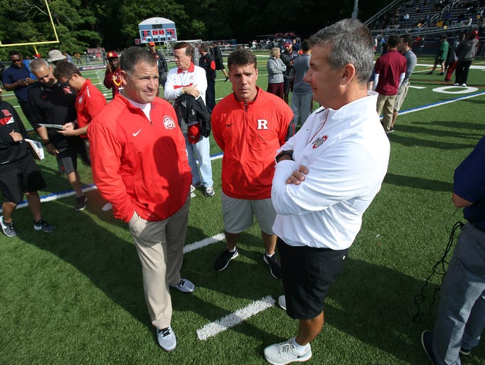 Ohio State defensive coordinator and former Rutgers
