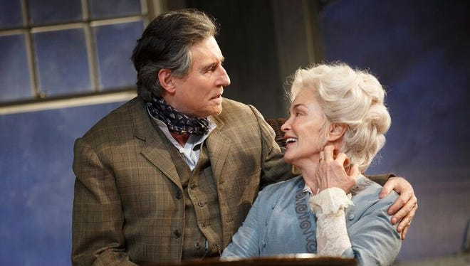 Gabriel Byrne and Jessica Lange play James and Mary Tyrone in the new Broadway revival of 'Long Day's Journey Into Night.'