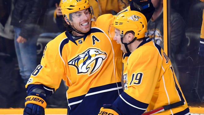 The Predators have 26 games remaining in the regular season, starting with Saturday's meeting with the Wild.