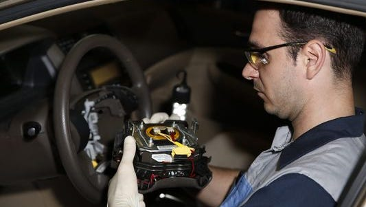 Some 2008 Honda Accords are being investigated for an air bag malfunction.
