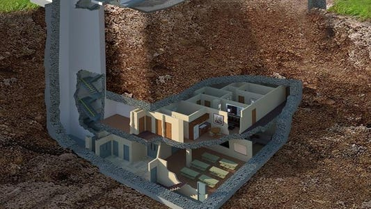 Ga. bunker is selling for 17.5 million.