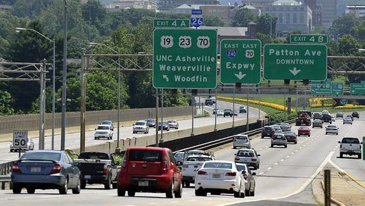 I-26 south of Asheville is one transportation upgrade on the horizon.