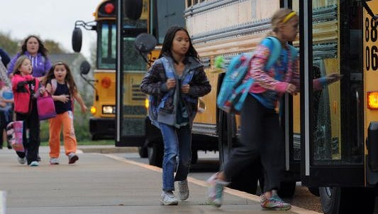 To provide bus service in Franklin Township in 2011-12, an outside agency was charging $47.50 a month for the first child and $40.50 for each additional child.
