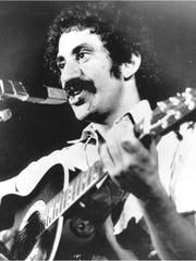 Singer Jim Croce is seen as he appeared at his last