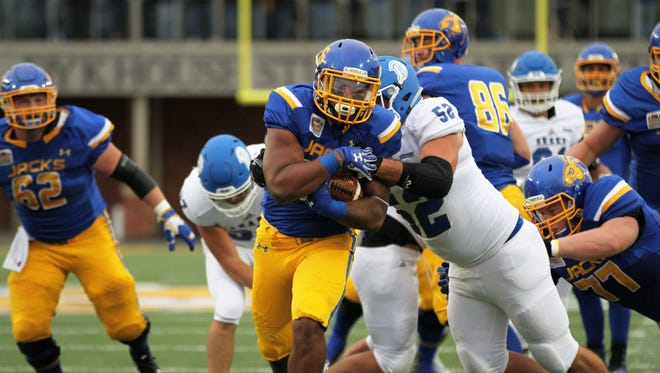 Mikey Daniel is enjoying a breakout season for SDSU, leading the team with 8 rushing touchdowns.