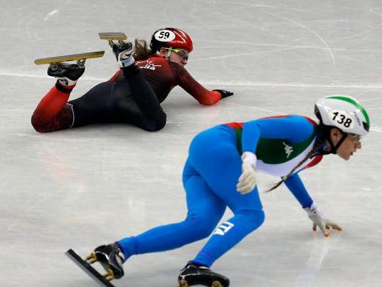 AP PYEONGCHANG OLYMPICS SHORT TRACK SPEED SKATING WOMEN S OLY SHO KOR