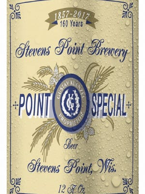 The Point Brewery will offer retro cans of its Point Special Lager as part of its 160th anniversary in 2017.