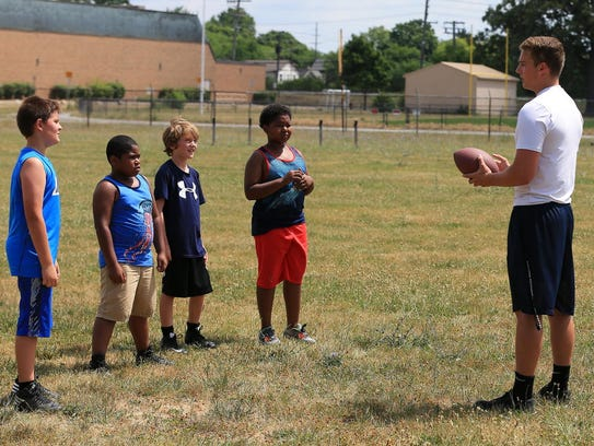 Voltage Camp Turns Up Heat On Summer Football Fun