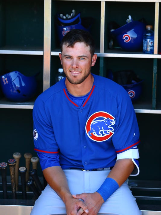 MLB: Chicago Cubs at Cleveland Indians