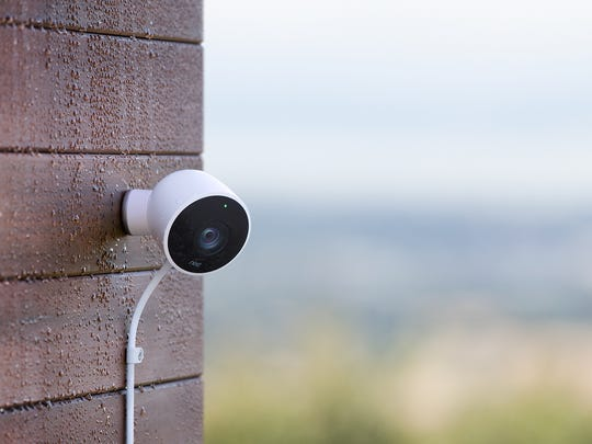Keep a watchful eye over your yard with a smart camera.