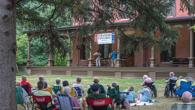 The Rev. Robert Jones and Matt Watroba, who performed a 2016 Verandah Concert, return to the Hayes Home this year on July 26.