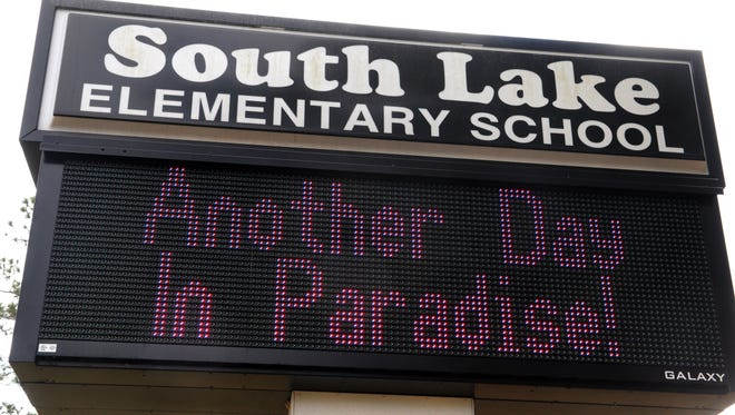 South Lake Elementary in Titusville, built in 1965, was one of three Brevard County schools that closed in 2013.