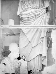Turn of the 20th Century sculptor Enid Yandell, a