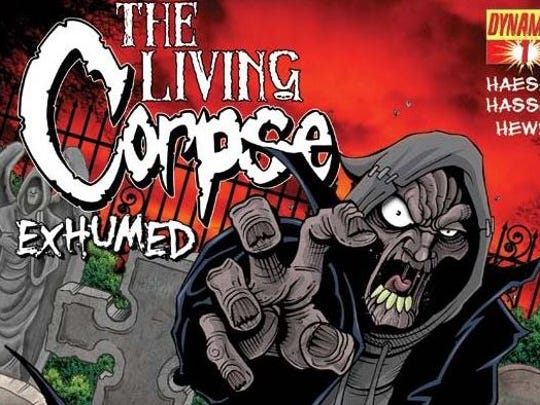 """The Living Corpse"" created by Buzz Hasson and Ken Hasier"