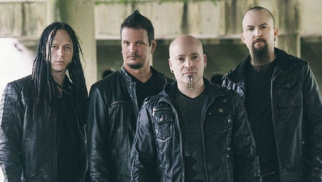 The band Disturbed will play Fort Rock on Sunday, May 1.