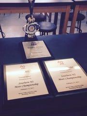 Awards the Moorestown Friends School robotics team