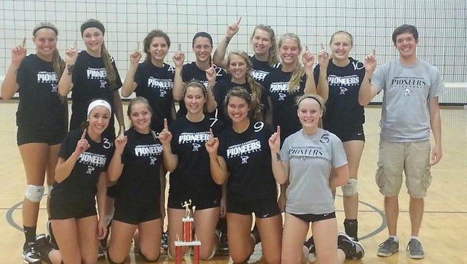 Cros-Lex volleyball team photo