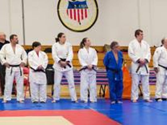 Fifty black belts were in attendance at the State Championships.