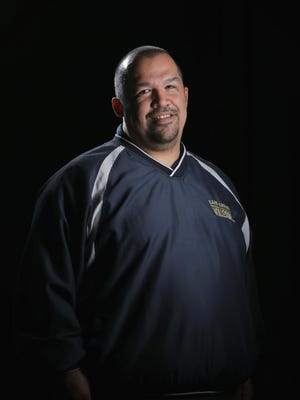 Marc Tejeda led Alvarez High's girls volleyball team to two league championships in the past three years.
