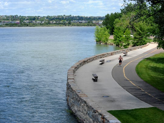 For Archive: Rivers Edge Trail intersects the the Central