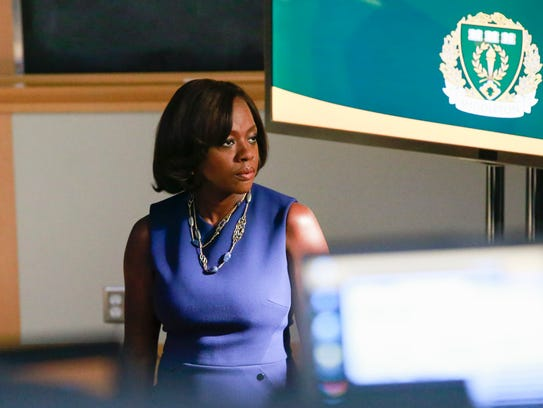 Viola Davis on 'How to Get Away With Murder.'