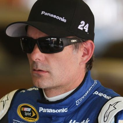 Jeff Gordon says of fellow driver Tony Stewart, the 'best thing for him is to be in that race car.'