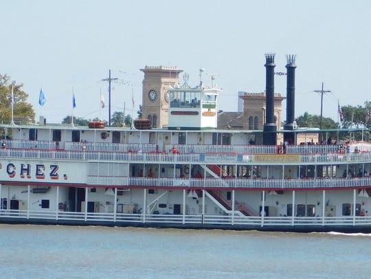 Stewart County seniors take a tour on the SS Natchez