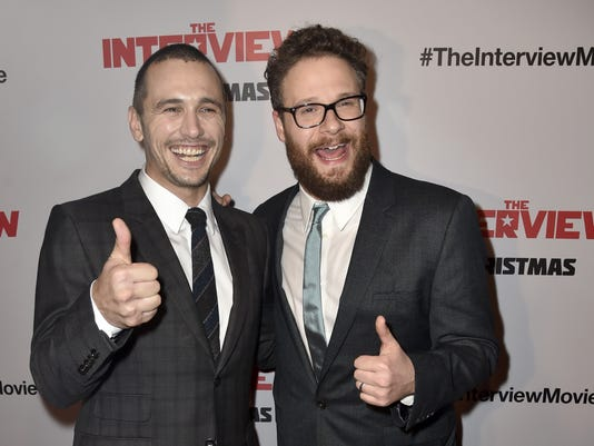 "FILE: The Interview Becomes Sony Pictures Top Online Film Premiere Of Columbia Pictures' ""The Interview"" - Arrivals"