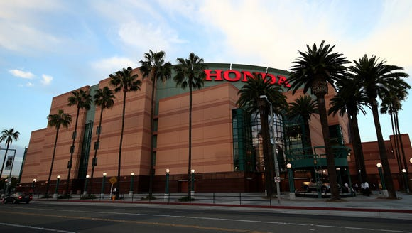A trip to the Honda Center rounds out the California