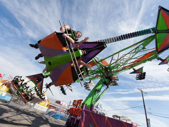 The Cliff Hanger at Keansburg will make you feel like you can fly.