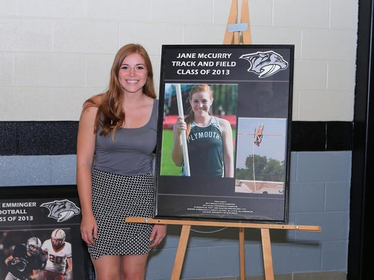 Jane McCurry is the only inductee who also is honored