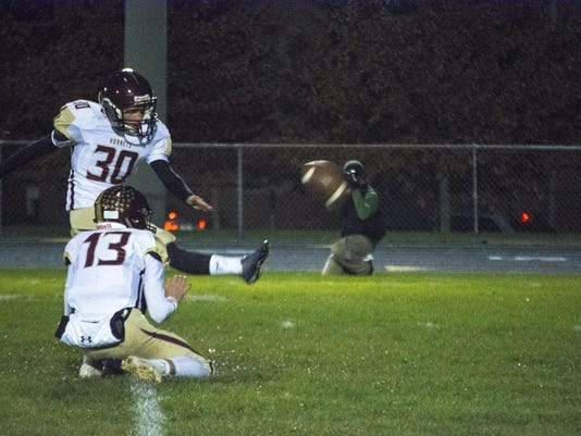 Licking Heights 49, Granville 7