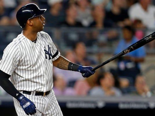 MLB Tampa Bay Rays at New York Yankees (2)