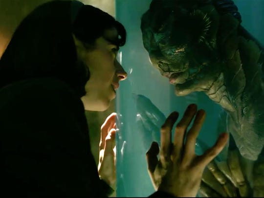 """The Shape of Water,"" an inter-species, romantic fairytale"
