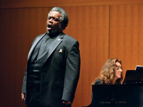 Baritone Mark Rucker, professor of voice at the MSU College of Music.