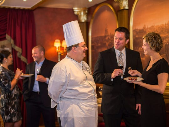 Guests enjoy time (at sea) with the chefs at Remy