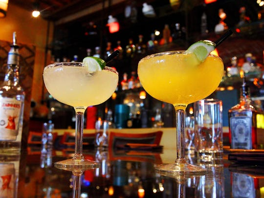 Margaritas from Agave Bar & Grill in Naples.