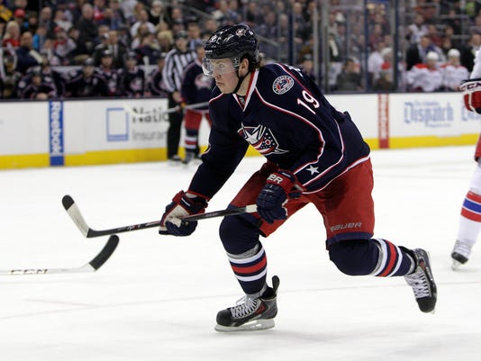 Blue Jackets Johansen Hockey