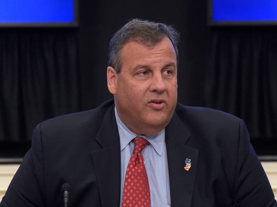 New Jersey Gov. Chris Christie, chairman of the President's Commission on Combating Drug Addiction and the Opioid Crisis, speaks at the beginning of the first meeting of the commission on combating drug addiction and the opioid crisis, Friday, June 16, 2017, in the Eisenhower Executive Office Building at the White House complex in Washington. (AP Photo/Susan Walsh)