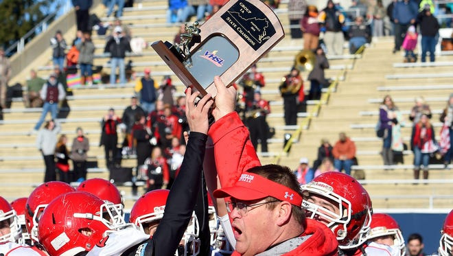 Riverheads, coached by Robert Casto, won the Group 1A state title last year.