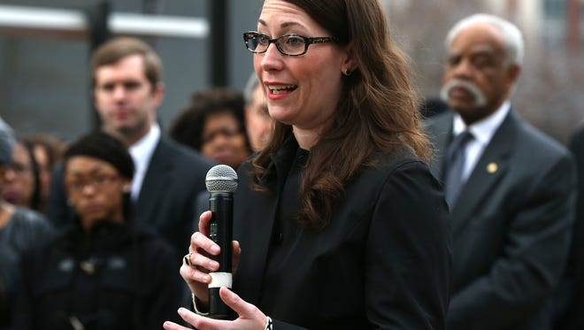 A 2016 file photo of Alison Lundergan Grimes.